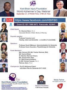 World Alzheimer's Day Webinar